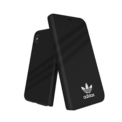 アディダス iPhone X/XS用Booklet case adidas Originals Black/White 28353