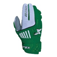 Xprotex Youth RAYKR 2014保護用バッティング手袋、グリーン、ラージ