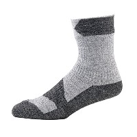 SealSkinz(シールスキンズ) Walking Thin Ankle GD L 1111602-001 Grey Marl/Dark Grey L