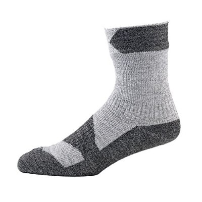 SealSkinz(シールスキンズ) アウトドア ソックス Walking Thin Ankle 11116WTA02 Grey Marl/Dark Grey XL