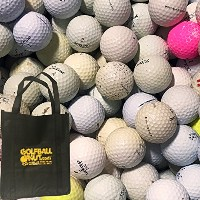 100hit-a-wayゴルフボールwith Reusable Toteバッグ