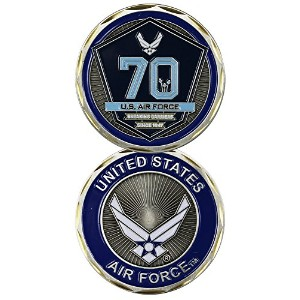 米国空軍70th Anniversary Challenge Coin