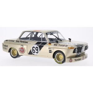 BoS Models 1:18 1975年DRM BMW 2002 Group 2 No.69BoS 1975 BMW 2002 Gr.2 #69 GS Tuning Warsteiner 1:18...