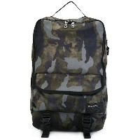 Diesel camouflage backpack - グリーン