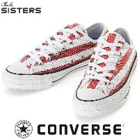 CONVERSE ALL STAR 100 SPANGLE USF OX レッド