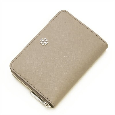 TORY BURCH トリーバーチ コインケース 小銭入れ ROBINSON ZIP COIN CASE FRENCH GREY フレンチグレー 11169105 036 【楽ギフ_包装】【送料無料】