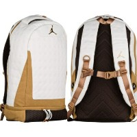 nike ナイキ 【エア・ジョーダン】 JORDAN RETRO 13 バックパック(White/Elemental Metallic/Wheat) Jordan Retro 13 Backpack...