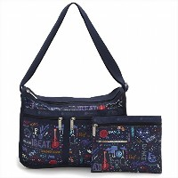 LeSportsac レスポートサック ショルダーバッグ 7507 DELUXE EVERYDAY BAG E014 LITTLE ORCHESTRA [並行輸入商品]