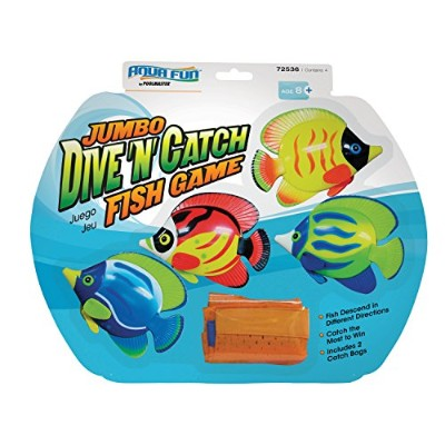 Poolmaster 72536 Jumbo Dive 'N' Catch Fish Game by Poolmaster [並行輸入品]
