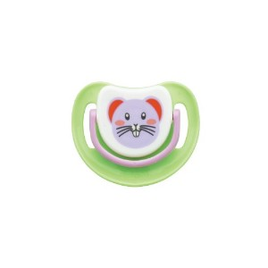 Pigeon Slilicone Pacifier Step 1, Mouse by Pigeon