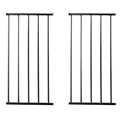 12.5 Gateway Extension Kit in Black, 2 Count by KidCo