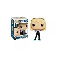 Funko - Figurine Marvel - Spider Gwen Unhooded Exclu Pop 10cm - 0849803072940