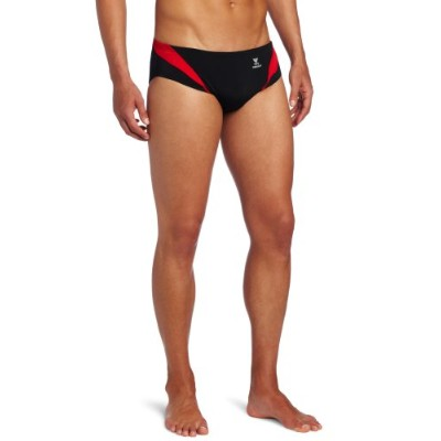 TYR SPORTメンズAlliance Durafast Splice Racer Swim Suit ブラック