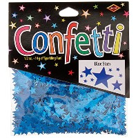 Beistle CN134 Blue Stars Confetti, 1/2-Ounce by Beistle