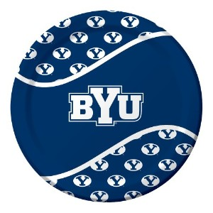 Creative Converting 8 Count Byu Cougars Paper Dinner Plates