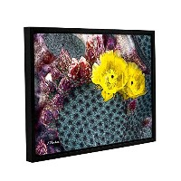 ArtWallリンダParker 'sイエロー砂漠BloomsギャラリーWrapped floater-framedキャンバス 14x18 0par123a1418f