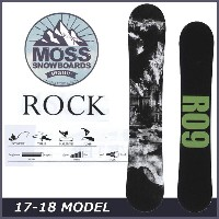 17-18 moss snowboards (モス )【ROCK】ロック スノーボード 板 snow board
