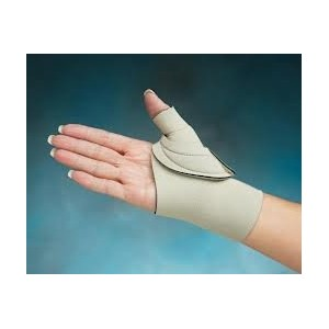 Comfort Cool Arthritis Thumb Splint-Beige -Small-Right by Cool Comfort