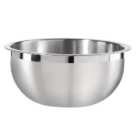 Oggi 8-Quart Two-Tone Stainless Steel Mixing Bowl with Airtight Lid [並行輸入品]