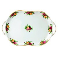 Royal Albert Old Country Roses Handled Serving Platter, 19 by Royal Albert