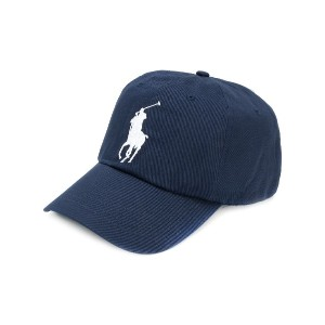 Polo Ralph Lauren embroidered logo cap - ブルー