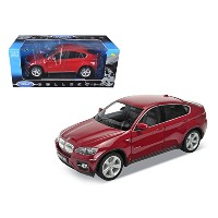 Welly 18031 2011 2012 BMW x6 Red 1 / 18 Diecast Carモデル