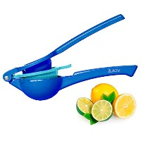 トップ定格Zulay Lemon Squeezer Citrus Pressジューサー ブルー