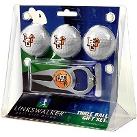 NCAA Bowling Green Falcons – 3ボールギフトパックwith Hat Trick Divot Tool