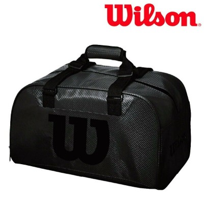 ウイルソン Wilson テニスバッグ・ケース WILSON BLACK DUFFEL SMALL BLACK EDITION WRZ842891