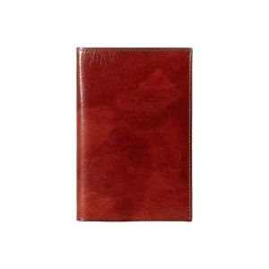 ボスカ メンズ パスポートケース【Old Leather Collection - Passport Case】Dark Brown Leather