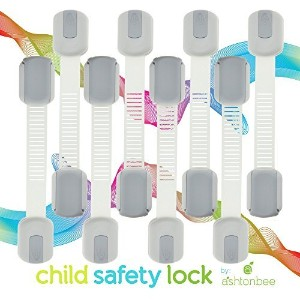 Child Safety Locks - Best Latches for Baby Proofing Cabinets, Drawers, Cupboards, Doors, Fridge....