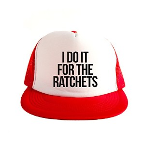 I Do It For The Ratchets Cool Swag Hip Hop 印刷 80s Style スナップバック 帽子 キャップ スタイル