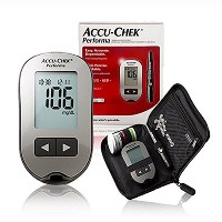 Accu Chek Performa Blood Glucose Meter and Lancing Device Fast 5 Second Test by Accu-chek Performa