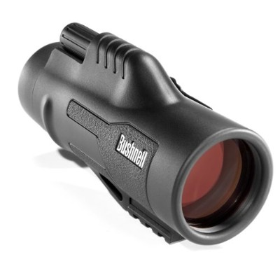Bushnell 191142 Legend Ultra HD Monocular with Picatinny Rail Mount - Black