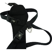 High Quality X-Trm Dog Chest Harness, Small, Gray