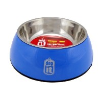High Quality 2-in-1 Durable Bowl, Blue, Small