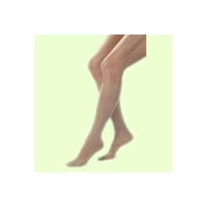 COMPRESSION STOCKINGS OPAQUE 15-20 KNEE HIGH OPEN TOE PT NAT SM by Jobst
