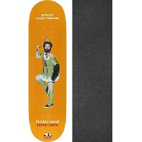 "Enjoi Skateboards Jimmy Carlin Almost Super HerosスケートボードデッキImpact Light – 8 "" x 31.9 "" withブラックマジックG..."