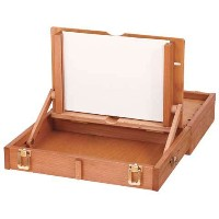 Mabef Oiled Beechwood Pochade Box 12x15 Inches M/105 by Mabef