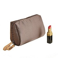 ithinkso BELL MAKE-UP POUCH コンパクトサイズ 化粧ポーチ (ブラウン)