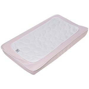 Changing Pad Cover and Topper Color: Blush by Oilo