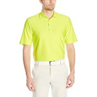 Greg NormanメンズTextured Solid Polo L グリーン