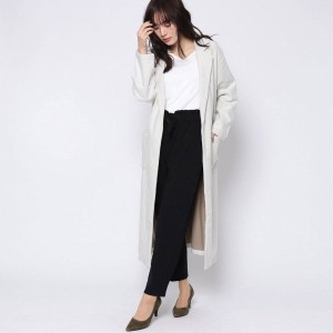 【SALE 63%OFF】ルーミィーズ  Roomy's OUTLET ロング丈チェスターコート (オフホワイト)