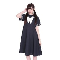 A&TCollection 学制服コスチューム 神(かみ)女子学園初等科制服 KA0222NB