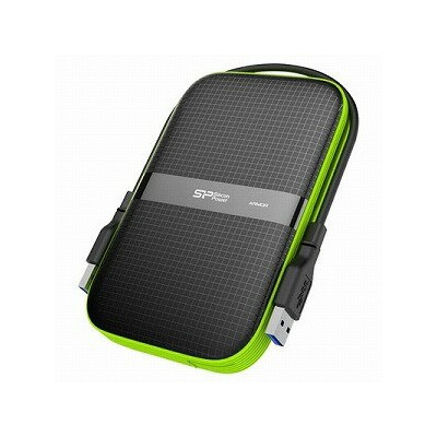 SPJ ポータブルHDD 1TB SILICON POWER SP010TBPHDA60S3K(送料無料)