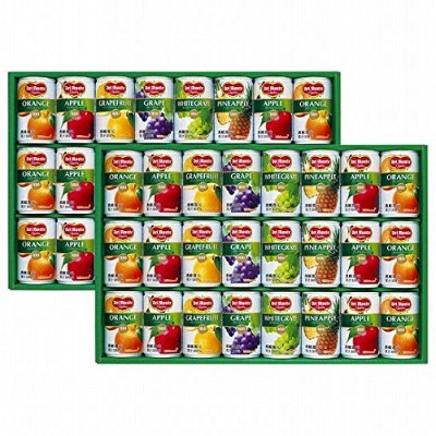Del Monte(デルモンテ) デルモンテ 100% 果汁飲料ギフト (21828604)