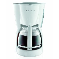 High Quality 12-Cup Coffeemaker, White