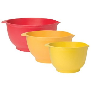 Now Designs Ecologie Batter Bowls レッド 5030001
