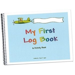 MY FIRST LOG BOOK & ACTIVITY BOOK For Boys (ブルー)