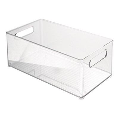 High Quality Refrigerator and Freezer Storage Organizer Bin for Kitchen, 8-Inch by 6 by 14.5-Inch,...